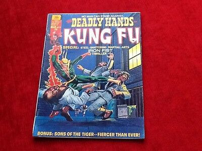 THE DEADLY HANDS OF KUNG FU #10, Marvel magazine 1975