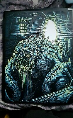 The Fly Limited Edition Hand Printed Silkscreen Print By Dan Mumford