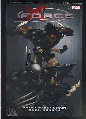 X-Force Vol. 1 Oversize HC, NM. New sealed Kyle Yost Crain Marvel Comics