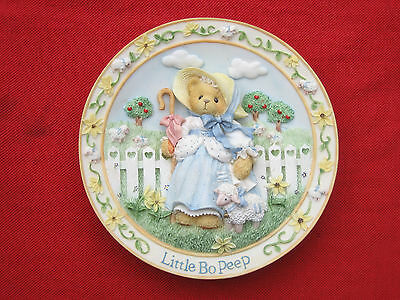 Little Bo Peep Cherished Teddies Nursery Rhymes Plate Collection Uk Great Gift