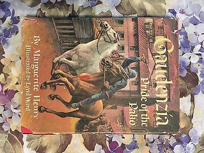 Horse  Book-Gaudenzia Pride Of The Palio By Marguerite Henry