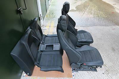 Mercedes W204 c class coupe set of AMG seats complete interior door cards.