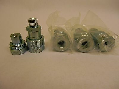 4pk 10,000 psi Hydraulic Quick Couplers Set replaces Enerpac PARKER OTC BEST ONE