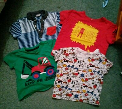 40+ items Boys 12-24 months 1-2 years toddler baby clothes bundle
