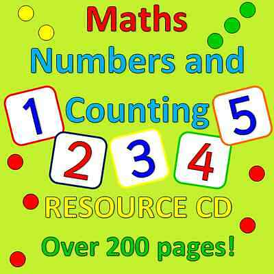 Maths- Numbers and counting- Childminding resources on CD, EYFS, CHILDMINDER