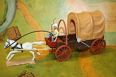 DaBro Conversion Wild West Colonist Wagon w. Timpo Driver