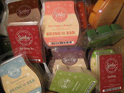 New Scentsy Bars - NEW ,RETIRED SCENTS & BBMB