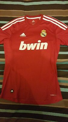 Real Madrid - Shirt / Camiseta / Maillot -  2011 red / rouge / roja - S