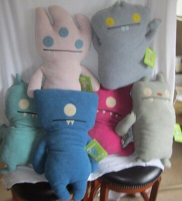 6 Giant Ugly Dolls 24' first production original manufacturer in plastic (BH)
