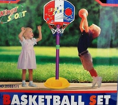 New Kids Indoor Outdoor Sports Small Basketball -1.25m