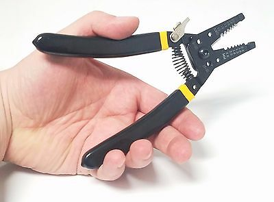 Milling Tooth Wire Stripper Cutter Peeling Pliers Electricians Tool 20-10AWG