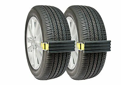 Tire Traction Mats Winter Snow Mud Ice Grip Solution For Cars Vans ATV Unstuck