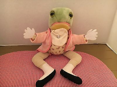 Beatrix  Potter Jeremy Fisher Stuffed Plush