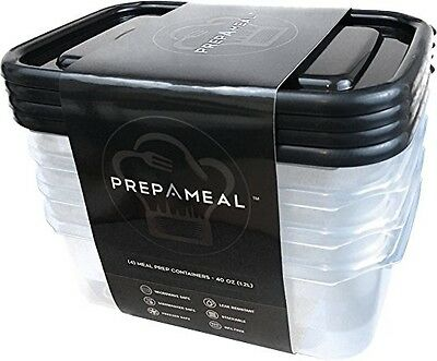 Meal Prep Containers by prepAmeal - Food Containers for Food Prep, Leak Proof St