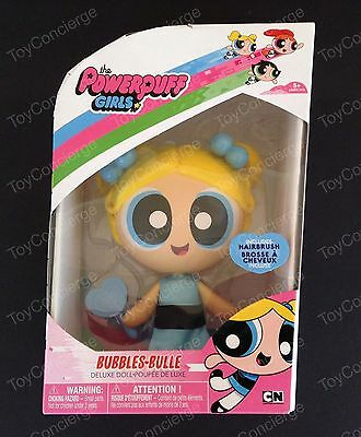 "The POWERPUFF GIRLS 6"" Inch DELUXE Doll BUBBLES In Box NEW"
