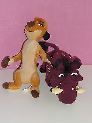 Timone And Pumbaa The Lion King Plush Toy Vivid Toys And Broadway The Musical