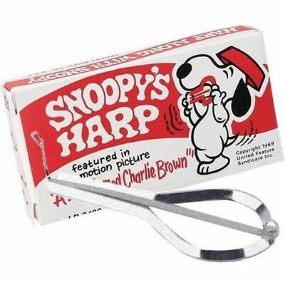 SNOOPY'S HARP-TROPHY MUSIC CO.,USA.-Jaw Harp - New In Box