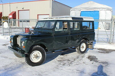 1969 Land Rover Other Station Wagon 1969 Land Rover Serie IIA Station Wagon LHD