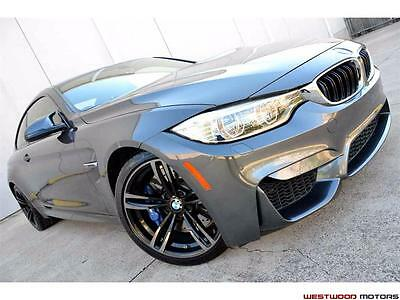 2015 BMW M4 Coupe MSRP $78k Executive Lighting MDCT 19 Wheels  2015 BMW M4 MSRP $78k Executive Lighting MDCT 19 Wheels Adaptime M Suspension NR