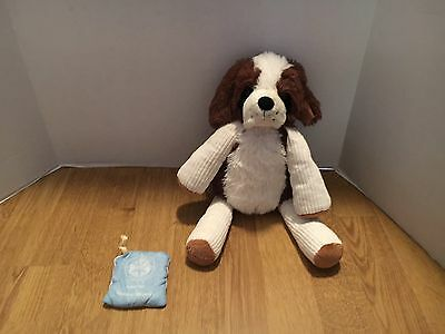 "Scentsy Buddy Patch The Dog 15"" Stuffed Plush With Scent Pack"