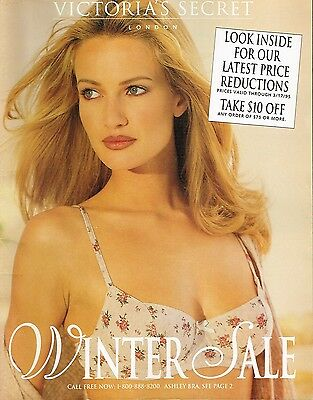 Vintage Victoria's Secret Winter Sale 1995 Catalog Softcover