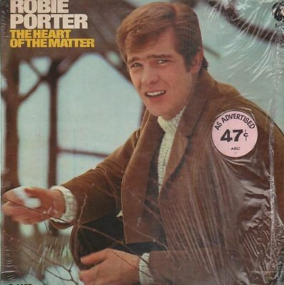 Robbie Porter The Heart Of The Matter NEAR MINT MGM Records Vinyl LP