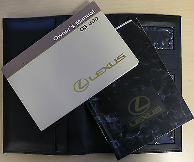 Genuine Lexus Gs 300 Handbook Owners Manual Wallet For 1991-1997 Cars Ref3406