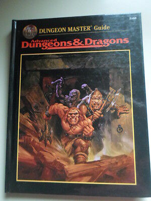 AD&D Dungeon Master Guide 2160- TSR 1997 =2nd Edition=Hardcover