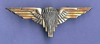 Free French Army 2nd & 3rd RCP Airborne Beret Badge WWII (Reproduction)