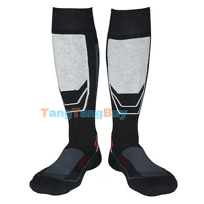 Men's Long Ski Snow Socks Thermal Winter Warm Motorcycle Sports Boot Work Socks