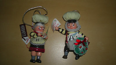 Hershey Collectible Holiday Ornaments 2004