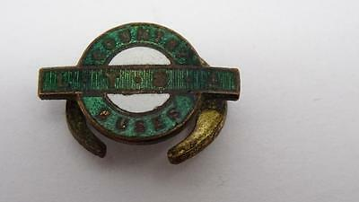 Rare Vintage Country Buses L.t.s.a  Green Enamel Badge