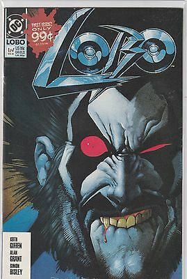 LOBO #1 - NM/NM+ -  BISLEY Cover! 1st Solo Series! MOVIE! DC HOT!