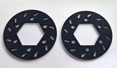1/5 Baja Carbon Fibre Brake Rotor x 2 by F5M fit 5B 5T SC PRC RV KM