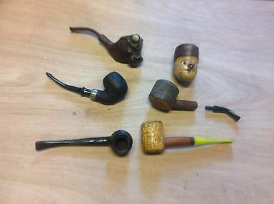 Selection of old pipes