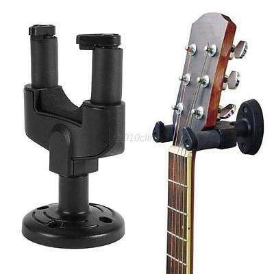 Universal Electric Acoustic Guitar Wall Hanger Holder Stand Rack Hook Mount NEW