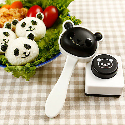 Lovely Panda Easy Sushi Mold Maker Kitchen Tools Bento Accessories Hot