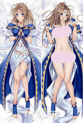 Anime Dakimakura Pillow Case Ah! My Goddess Belldandy WS004(150*50cm-Peach Skin)
