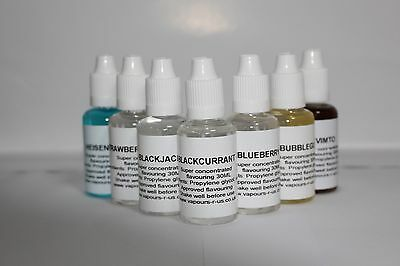 30,50,100,200,500ml &1ltr EXTRA CONCENTRATED FLAVOURINGS FOR e-LIQUIDS 206 G-M