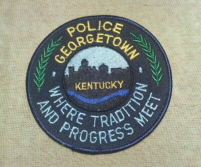 KY Georgetown Kentucky Police Patch