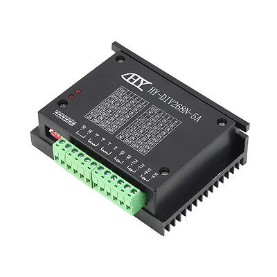 CNC Single Axis TB6600 0.2-5A Two Phase Hybrid Stepper Motor Driver Controlle F0