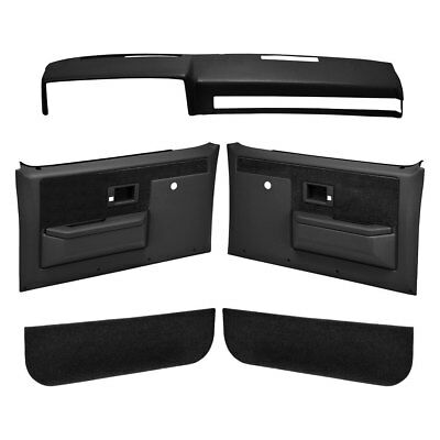 Coverlay 18-601CN-BLK - Black Interior Combo Kit (No Power Windows)