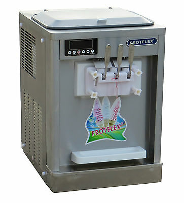 Eismaschine Softeismaschine Eiscreme Frozen Yogurt  Maschine 808
