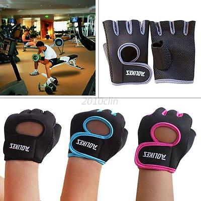 Unisex Weight Lifting Exercise Training Workout Fitness Gym Sports Gloves 1pcs