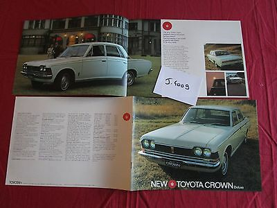 J.4009 / TOYOTA  Crown Deluxe catalogue english text