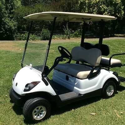 2012 Yamaha Golf Cart 4 Seater Tray Back Resort Car Farm Buggy