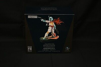 Star Wars Limited Edition Boba Fett Gentle Giant Celebrate IV Maquette/Statue
