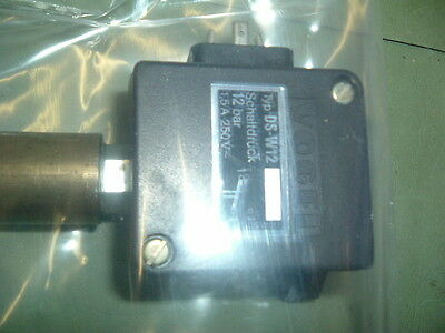 Vogel Ds W12 Pressure Switch 12 Bar........................  New Sealed Packaged