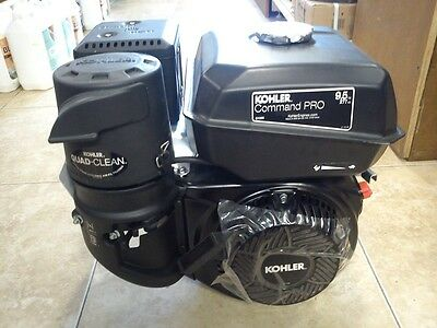 Kohler Command Pro 4 stroke petrol engine 9.5HP horizontal shaft