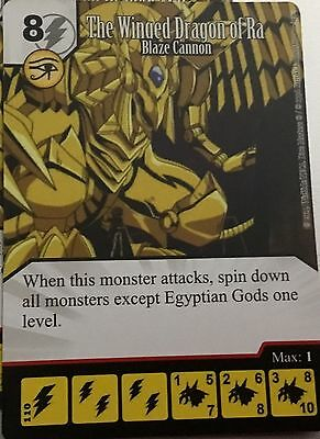 The Winged Dragón of Ra super rare dicemasters